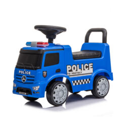 Mercedes Bens Ride On Police Push Car For Toddler – LB-657F-Blue