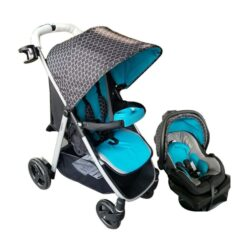 Evenflo Flipside Travel System with Litemax Infant Car Seat - G4380