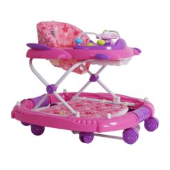 Baby Monami Baby Walker Cum Rocker – BW02- Pink