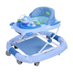Baby Monami Baby Walker Cum Rocker - BW02-Blue