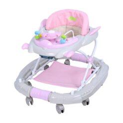 Baby Monami Baby Walker Cum Rocker - BW02-Pink