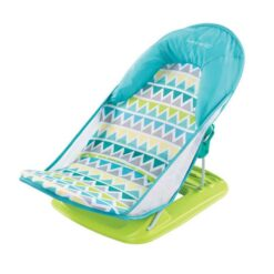 Summer Infant - Deluxe Baby Bather - Triangle Stripe - SI09580