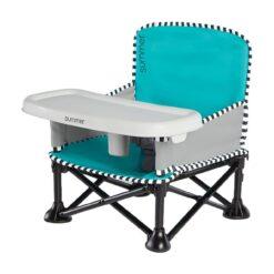 Summer Infant - Pop N Sit Portable Booster - Aqua Splash - SI13666