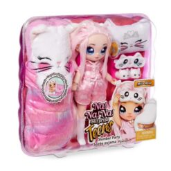The Na Na Na Surprise Teens are having a slumber party! The beautiful, 11″ soft fashion dolls