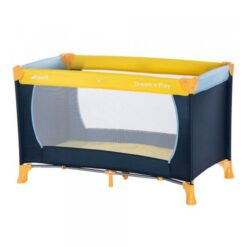 Hauck - Dream'N Play Travel Cot - Yellow/Blue/Navy - 604489