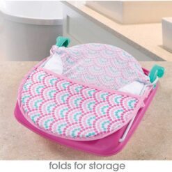 ummer Infant - Deluxe Baby Bather - Bubble Waves - SI09585