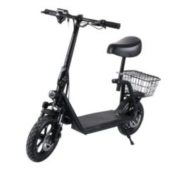 Top Gear Electric Scooter With Set -TG 700 Black