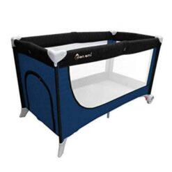 Monami Baby PlayPen Sleeping Bed TY-B604 Blue & Black