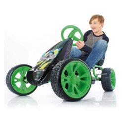 Hauck Sirocco Pedal Go Kart, Green/Black - 907058