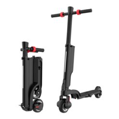 X6 - 2 Wheel Electric Folding Mobility Scooter 250W Black For Kids & Adults
