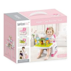 Happicute Baby Health Care Booster Seat With Toys - 555-13AB-Pink